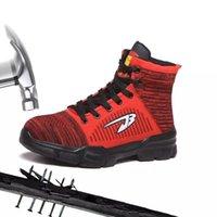 Männer und Damenmode Outdoor Steel Toe Arbeitsschuhe Männer Punktionssicher Sicherheit Stiefel Schuhe Anzug für Winter 201126