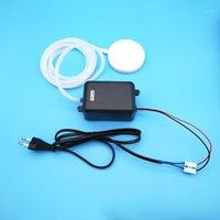 DIY Mini-Vakuumluftpumpe für Acquirum 16L / min mit Silikonrohr, Luftstein und Euro-Kabel, um den Sauerstoff zu erhöhen + freies Verschiffen1