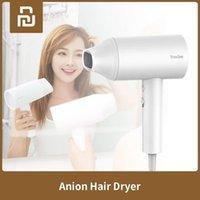 Sèche-cheveux SHOWSEE Anion d'ions négatifs 1800W Soins Professinal rapide à sec portable Sèche-cheveux cheveux Diffuseur pour filles Cwmsports FY8150