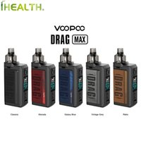 VOOPOO DRAG MAX 177W Pod Kit Con 4,5 ml PnP Pod Adatto a tutti i PnP bobine Powered by dual 18650 batterie