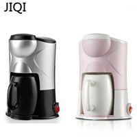 Cafeteira Jiqi Maker Drip Tipo Máquina Semi-automática Café Americano Espresso Cappuccino Latte 220 V 300W1