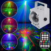 Lámparas de iluminación láser de bola mágica Luces de fiesta DJ Disco Lighting para la iluminación de la familia de la familia de la familia Lámpara de proyector