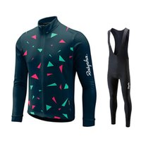 raphaful 2020 Pro Cycling Team Maillots mis Ropa Ciclismo Hombre Triathlon manches longues respirant montagne Vêtements vélo vélo