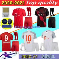 Bayern München Munich SANE Fußball-trikot soccer jersey football shirt 20 21 LEWANDOWSKI MULLER 2020 2021 Fußball trikot