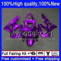 Kit pour HONDA CBR 929RR ALL Violet 900 929 RR 00 01 2000 2001 50HM.138 CBR900 RR CBR 900RR 929CC CBR900RR CBR929RR CBR929 RR 00 01 Carénage