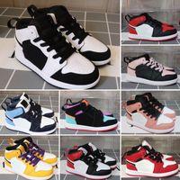 Ucuz çocuklar 13 s düşük basketbol ayakkabı siyah turuncu kırmızı terracotta erkek kız Gençlik çocuklar J13 jumpman 13 XIII sneakers bebek boot