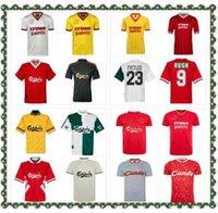 04 05 Retro Soccer Jersey Gerrard 1982 Fowler Dalglish Football Hemden Torres 1989 MAILLT 06 07 Barnes 08 09 Rush 97 95 96 93 McManaman 85