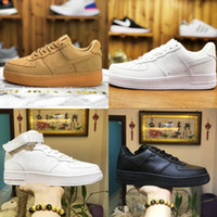 Nike Air Force 1 one airforce Shoes Cheap 2021 New Design Forces B68b # Scarpe da skateboard basse da uomo Cheap One Unisex 1 Knit Euro Air High Women All