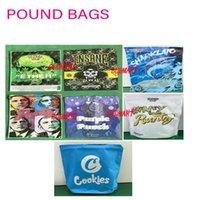 Pound çanta deli kurabiye runtz şakalar up lb çanta 3.5g mylar çanta kuru ot çiçek için 420 ambalaj