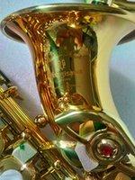 Yüksek Kaliteli Japonya Yanagisawa S-991 Kavisli Soprano Saksafon Altın Profesyonel Çalma Enstrüman Kavisli Soprano Sax Ağızlık