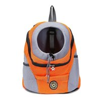 Pequeño cachorro portátil perro gato mochila al aire libre bolsa de pecho transpirable malla casual viajes mascota portador bolso