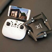 S16 Drones Droncopter Drones avec caméra HD Gravity Sensor RC Hélicoptère Vérification vocale Vidéo Transmission Vidéo 2.4Grc Drone Toys 720p