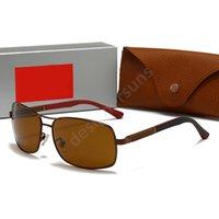 RayBan RB  Moda Tasarımcısı Güneş Gözlüğü Gözlük Çıkarılabilir Maskeleme Çerçevesi Süs Gözlük UV400 Koruma Lens En Kaliteli Basit H12