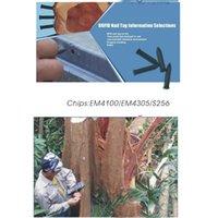 Smart Card 10pcs / lot ISO14443A S50 13.56MHZ RFID NFC Nail Tag di prossimità per la Gestione Albero / Guardia Tour Patrol Sistema