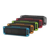 Последняя модель SC208 Беспроводной открытый Bluetooth-динамик автомобиля сабвуфер SD TF Card портативный мини Bluetooth динамик динамик стерео сабвуфер