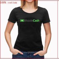 Dinheiro (BCH) Crypto Mulheres T-shirt Tecnologia Descentralizada Digital Ledger Algodão Estilo Casual Funky Moda Tee Shirt1
