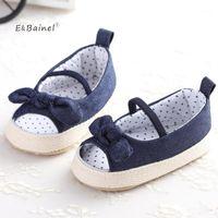 Erste Wanderer Ebainel Sommer Weiche Sohle Girl Baby Schuhe Demin Mode Schuhe1