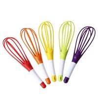 Multifunktions-Whisk-Mischer für Eier Creme Backmehl Rührer Hand Lebensmittelqualität Kunststoff Ei Beaters Küche Kochen Werkzeuge 425 N2