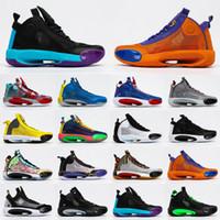 Jayson Tatum 34 XXXIV PE Mavi O Erkekler Basketbol Ayakkabıları Spor Sneaker 34s XXXIV Guo Ailun Kırmızı Patlayıcı Işık Atletik Eğitmen