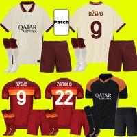 AS ROMA Jersey de football 2020 2021 Pastore Dzeko Zaniolo El Sharawy Troisième Shirts Football