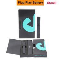 Nuevo Paquete 420 Premium DNA Plug Play Vape Pen Battery 500mAh Recargable E Cigarette Vaporizador Starter Kit para cartucho de aceite de aceite grueso