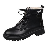 2021 Verkaufs-Qualität! Marke und Frauen Niedrige Stiefel Schnee-Stiefel Wolle Frauen Schuh Netter Winter-Schnee-Aufladungen Größe 35-40
