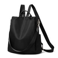 حقيبة الظهر المرأة أكياس الأزياء أكسفورد مكافحة سرقة حقيبة مدرسية عالية الجودة لمكافحة السفر متعددة الوظائف كيس دوس mochila
