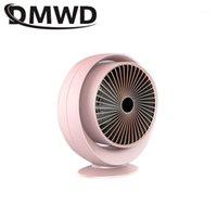 Termostato eléctrico ventilador calentador de aire caliente calentador soplador de escritorio ángulo regulable invierno mano calefacción personal radiador casa oficina1