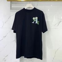 2021 Nueva moda para hombre de alta calidad de impresión de flores t shirts ~ Tamaño chino Tshirts ~ Mens New Designer de manga corta camisetas