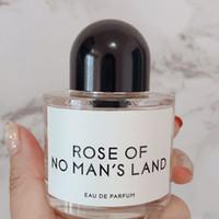Rose von No MAN-Land 50ml 3.3Flloz EDV-Verdampfer-Elegant-Parfüm für Frauen und Männer natürliches Sparent-Flaschen-Design Kostenlose Lieferung