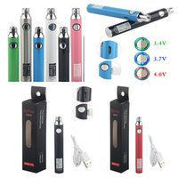 510 Thread Battery Vape Pen Batteries Rechargeable Batteries Ugo V3 Preheating Adjustable Voltage 650 mah USB Charger Disposable Vapes Pen