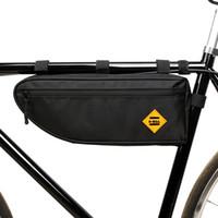 دراجة دراجة الدراجات حقيبة الأنبوب الأمامي إطار الهاتف للماء دراجة أكياس مثلث الحقيبة الإطار حامل bycicle الملحقات 2 الحجم