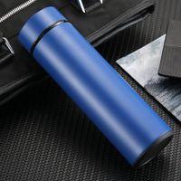 Business Intelligenza Smart Thermos tazza in acciaio inox Touch Display Temperatura Acqua Tazza d'acqua Bottiglie di acqua isolata VTKY2375