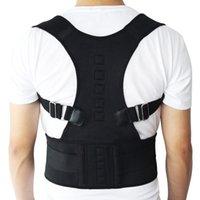 Réglable Yukui Posture magnétique Corset Brace Brace Bretelle Support lombaire Correcteur droit pour hommes Femmes S-XXL 6VRU