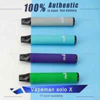 Original Vapeman Solo X 일회용 vape 펜 1500 퍼프 Strater Kits VS 미리 채워진 키트