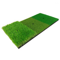 Golf Training Aids Practice Mat Artificial Lawn Grass Rubber...