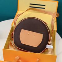 2020 حار بيع الكلاسيكية السيدات الاتجاه حقيبة الكتف الأزياء حقيبة رسول جودة عالية الطباعة المحمولة المحفظة هدية مربع التعبئة والتغليف