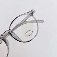 New Arrival Big Round Design Revival Optical Glasses TR90 Si...