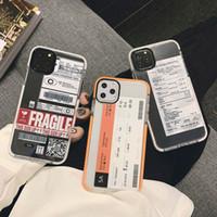 재미 바 라벨 세계 아이폰 12 6 7 8 8plus 11 프로 X XS XR MAX 소프트 실리콘 TPU 백 커버 coque 도매 DHL의 전화 케이스 ticke
