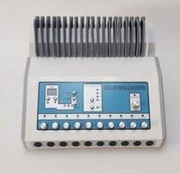 2 In1 러시아 웨이브 EMS 근육 자극 장비 원적외선 난방 전기 근육 자극기 EMS 물리 치료 장비
