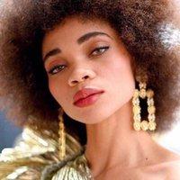 Novo Luxo Luxo Brilhante Cristal Strass Quadrado Pingente Mulheres Dangle Brincos Jóias Maxi Senhora Declaração Brincos Acessórios1