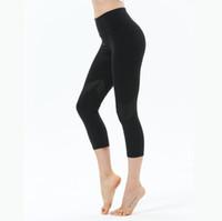 Pantalon de yoga pour femmes Tissu flexible très élastique Leggings de tissu léger Nude Sensé Lu Yoga Pants Fitness Wear Leggings de marque dames