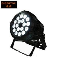 Алюминиевый корпус 18x12W RGBW 4в1 LED Par 64 свет водонепроницаемого типа IP65 воды сопротивляется уровень наружного DMX LED PAR банок AC110V-240V