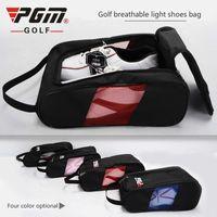 Los nuevos zapatos de deporte de golf de PGM Big Bag permeable al aire femenino de alta calidad de luz Práctica de zapatos Paquete de viaje bolsa impermeable a prueba de polvo de los hombres 201112