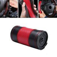 Nouvelle Arrivée Haute Qualité 38cm Véritable Véritable Couverture de voiture Couvercle de roue DIY Aiguille Thread NO-Slip Pro Set1