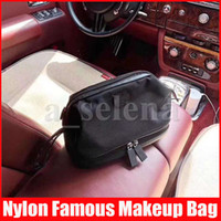 Famous Women Nylon Makeup Travelling Toilet Bag Fashion Zipp...