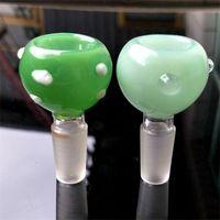 Neue 14mm 19mm männliche weibliche Kräuterrutsche DAB Stücke Glasschüsseln Trockene Kräuterschüssel Tabakschüsseln Für Glasbongs Wasserleitungen 139 K2