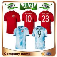 20/21 Noruega Jerseys de futebol 2021 Home Vermelho # 23 Haaland Nation Team Soccer Shirt Sørloth Ødegaard Berge Futebol Uniformes