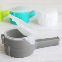 12.8cm Sac Clip Food Snack Plastic Sceau Pour Stockage Clips Cuisine Home PP Outil d'étanchéité Couvercle 3 Couleur Nouveau 2 3Zm G2