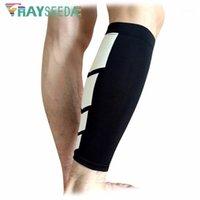 ذراع تدفئة الساق Rayseeda ضغط الأكمام الرياضية الرياضية المضادة للانزلاق سلامة ركوب كرة القدم كرة القدم 1